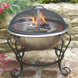 Mini Fire Pit - Bring the ambience of a cozy fire with you almost anywhere. Perfect for apartment courtyards, beach side barbecues/fires or picnic, you'll love it's take-along size and stylish looks every time you fire it up. Available in your choice of three styles.