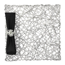 Silver Nest Placemats - Set of 4