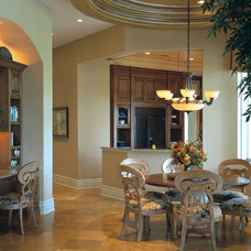 Mediterranean Dining Room by The Fechtel Company
