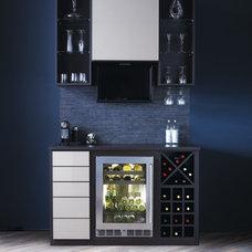 Modern Wine Cellar by California Closets