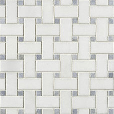 Traditional Mosaic Tile by Rebekah Zaveloff | KitchenLab
