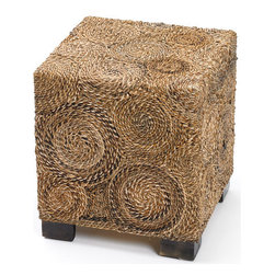 Square Banana Stool - The Square Banana Stool has a homely, comfortable style that is sure to add warmth to any room. This beautifully crafted hardwood stool is finished in a natural finish, for complete comfort whilst you sit and relax.