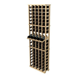 Wine Cellar - Rustic Pine 100 Bottle Wine Rack - Features: -Wine rack.-100 Bottle capacity.-Best when mounted on the wall.-Pine wood construction.-Distressed finish.-Mix and match other products to create a finished wine cellar.-Rustic Pine collection.-Collection: Rustic Pine.-Distressed: Yes.-Country of Manufacture: United States.Dimensions: -Overall Product Weight: 28lbs.