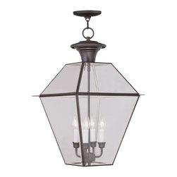 Livex Lighting - Livex Lighting 2387-07 Outdoor Lighting/Outdoor Ceiling Light - Livex Lighting 2387-07 Outdoor Lighting/Outdoor Ceiling Light