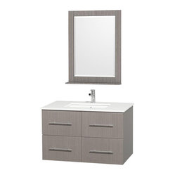 Wyndham Centra Vanity Grey Oak