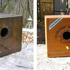 Eclectic Birdhouses by uncrate.com