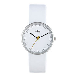 Braun - Braun Ladies Watch - BN21WHL - Braun - Braun understands and adheres to the core principles of great design - simplicity and functionality. This has become the foundation for the Braun design philosophy. They create items that are made to last from superior quality raw materials. Their watches all feature easy to read dials and simple to operate functions. A Braun wristwatch is one you will be proud to own for years and years to come.