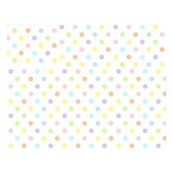 "SheetWorld - SheetWorld Fitted Crib / Toddler Sheet - Pastel Colorful Polka Dots Woven - This luxurious 100% cotton ""woven"" crib / toddler sheet features pastel multi-colored polka dots on a solid white background. Our sheets are made of the highest quality fabric that's measured at a 280 tc. That means these sheets are soft and durable. Sheets are made with deep pockets and are elasticized around the entire edge which prevents it from slipping off the mattress, thereby keeping your baby safe. These sheets are so durable that they will last all through your baby's growing years. We're called SheetWorld because we produce the highest grade sheets on the market today. Size: 28 x 52."