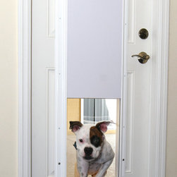 Plexidor - Electronic Pet Door With One-Touch Programming -