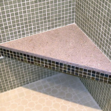 Traditional Showers by Beachstone Sustainable Surfaces