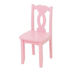 KidKraft - Brighton Chair - Pink by Kidkraft - Our Brighton Chair is elegant, comfortable and available in a variety of colors. This is a furniture piece that would look great in any bedroom.