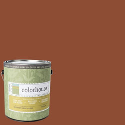 Inspired Semi-Gloss Interior Paint, Clay .04, Gallon - Colorhouse paints are zero VOC, low-odor, Green Wise Gold certified and have superior coverage and durability. Our artist-crafted colors are designed to be easy backdrops for living. Colorhouse paints are 100% acrylic with no VOCs (volatile organic compounds), no toxic fumes/HAPs-free, no reproductive toxins, and no chemical solvents.