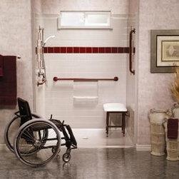 Barrier Free Showers - Best Bath Systems Barrier-Free Shower