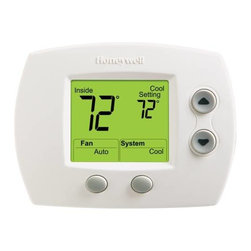 Honeywell - Honeywell Non-Programmable T-Stat - Factory calibrated, no field calibration required