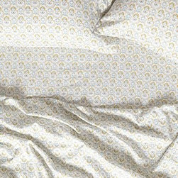 Anthropologie - Arga Sheet Set - *Set includes one flat sheet, one fitted sheet and two standard pillowcases