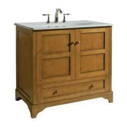 "KOHLER - KOHLER K-2452-F7 Ballard 36"" Vanity in Nutmeg - KOHLER K-2452-F7 Ballard 36"" Vanity in NutmegEvery exquisite detail of KOHLER(R) vanities has been thoughtfully designed and meticulously crafted to create heirloom-quality bathroom furniture. From their premium hardwoods and veneers to their dovetail drawer boxes, these vanities reflect a strikingly symmetrical blend of fashion and function.Please see our Delivery Notes for Freight Shipments for products that are oversized and/or are too heavy to ship UPS ground. KOHLER K-2452-F7 Ballard 36"" Vanity in Nutmeg, Features:• 36-3/4""W x 21-3/8""D x 33-1/2""H"