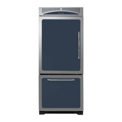 "Heartland - Classic Series HCBMR19LCBL 30"" 18.5 cu. ft. Bottom Freezer Refrigerator  Adjusta - Heartland Classic Refrigeration is all about flexibility freshness and styling Our four-sided adjustable door bins are sturdy enough to lift out even when fully loaded and the laddered system allows you to adjust the bins to fit your storage needs Hu..."