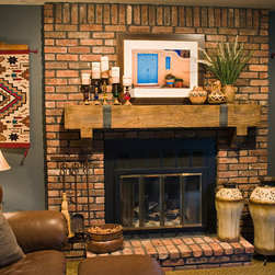 Fireplace Mantels - Synthetic wood fireplace mantels make a perfect addition to any style of room.