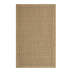 Safavieh - Safavieh Palm Beach Natural Sisal Rug (8' x 11') - Dress up any space with this natural sisal powerloomed rug made from sisal. This rug features designs inspired by today's Morrocan and Ikat patterns.