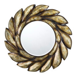 Cal Lighting - Cal Lighting WA-2154Mir Tivoli Round PU Beveled Mirror - Tivoli Round Pu Beveled Mirror