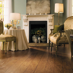 COUNTRY Rustic Hickory Planks Color: U1102 Quick-Step Laminate Flooring - COUNTRY Rustic Hickory Planks