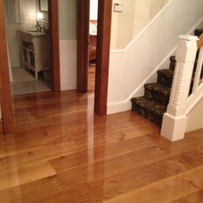 Traditional Hardwood Flooring by Oak & Broad