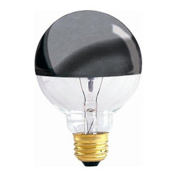 Half Chrome G, 25 Medium Base Bulb