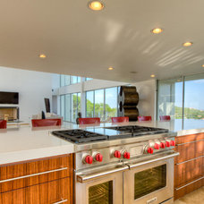 Modern Kitchen Cabinetry by Austin Wood Works, Inc.