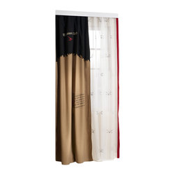 Cilek - Pirate Curtain Sheer - It may seem like a curtain, but it's more like the sails of a pirate ship, majestically sailing the open seas.... Curtains and blinds, indispensable to any room! These complementary components are the products of a superior design, calculating the tiniest details to enrich your dreams...