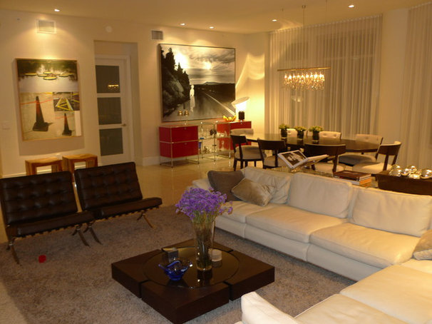 Contemporary Living Room by Ted Maines Interiors