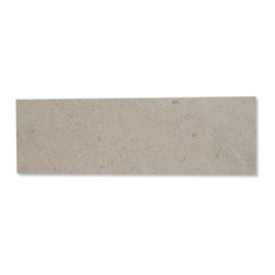 "GlassTileStore - Zenith Lady Gray 6"" x 18"" Honed Marble Tile - Zenith Lady Gray 6"" x 18"" Honed Marble Tile             This marble mosaic will provide endless design possibilities from contemporary to classic. It creates a great focal point to suit a variety of settings. Natural stones are products of nature, therefore, variations in color, pattern, texture, and veining will occur.         Chip Size: 6"" x 18""   Color: Lady Gray    Material: Marble   Finish: Honed    Sold by the Piece - each piece covers 0.75 sq. ft.   Thickness: 10mm   Please note each lot will vary from the next.            - Glass Tile -"