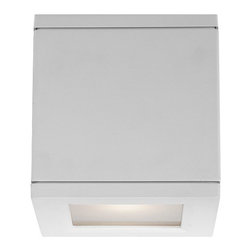 W.A.C. Lighting - W.A.C. Lighting WS-W2505-WT Rubix Modern / Contemporary LED Outdoor Wall Sconce - Heavy duty construction and engineering ensure ultimate up and down lighting for a high-powered residential and commercial luminaire.  Hardware concealed for a clean architectural look. Five stunning designer finishes.