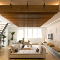 contemporary living room by Elliott Kaufman