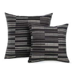 Outdoor Pillows in Octave Maharam Fabric