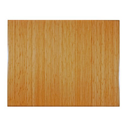 """Anji Mountain - Bamboo Natural Tri-Fold Plush Chairmat, 47"""" x 60"""", no lip - Our patented Bamboo Office Chairmats have introduced eco-friendly style to what was formerly an unattractive and purely functional accessory. Naturally elegant bamboo is more durable than a plastic mat and adds a charming organic touch to any area."""