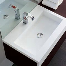 modern bathroom countertops by Lafex Bestone
