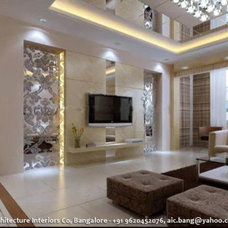 Modern Family Room by Architecture Interiors Co. Pvt. Ltd