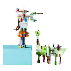 Totem: Creatures Culture & Science Cardboard Toy