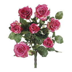 Silk Plants Direct - Silk Plants Direct Confetti Rose Bush (Pack of 6) - Rose - Silk Plants Direct specializes in manufacturing, design and supply of the most life-like, premium quality artificial plants, trees, flowers, arrangements, topiaries and containers for home, office and commercial use. Our Confetti Rose Bush includes the following: