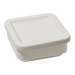 "Alessi ""Programma 8"" Medium Square Container with Lid"