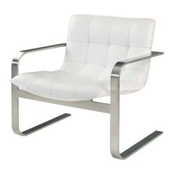 Nuevoliving - Nuevo Living Cordoba Lounge Chair - White - Features: