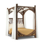 La Lune Collection - Rustic Canopy Bed #4278 by La Lune Collection - Rustic Canopy Bed (Full) #4278 by La Lune Collection