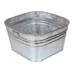 Galvanized Washtub