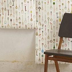 Anthropologie - Teaspoons Wallpaper - *By Studio Ditte