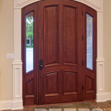 Contemporary Front Doors by Doors For Builders Inc