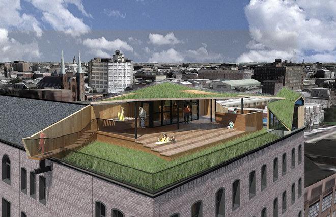 by Sandvold Blanda Architecture + Interiors LLC