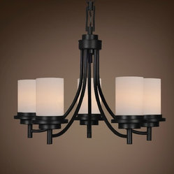 Black Iron Chandeliers