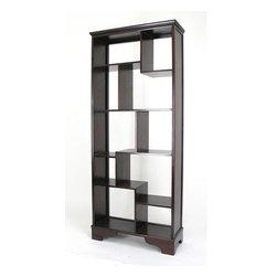 Wayborn - Vertical Asian Storage Shelves - Vertical Asian Storage Shelves