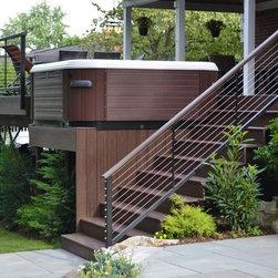Bullfrog Spas sold by Brown's Pools & Spas - Bullfrog Spas- A pathway to a Backyard Oasis.