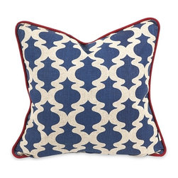IMAX CORPORATION - IK Kapona Printed Pillow with Down Insert - IK Kapona Printed Pillow w/ Down Insert. Find home furnishings, decor, and accessories from Posh Urban Furnishings. Beautiful, stylish furniture and decor that will brighten your home instantly. Shop modern, traditional, vintage, and world designs.